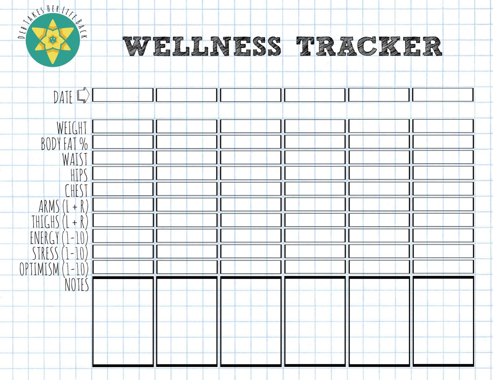 Easy To Use Wellness Tracker