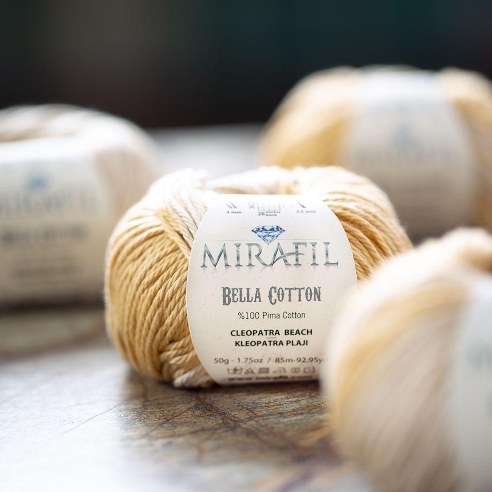 Perfect Yarn For The Summer Mirafil Bella Cotton Mirafil Bella