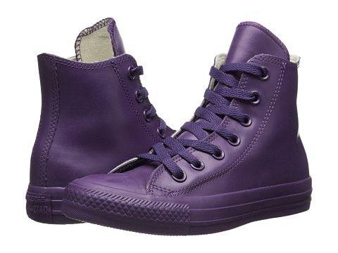 2fdcd1dd05ac Converse Chuck Taylor® All Star® Rubber Hi Black - Zappos.com Free Shipping  BOTH Ways
