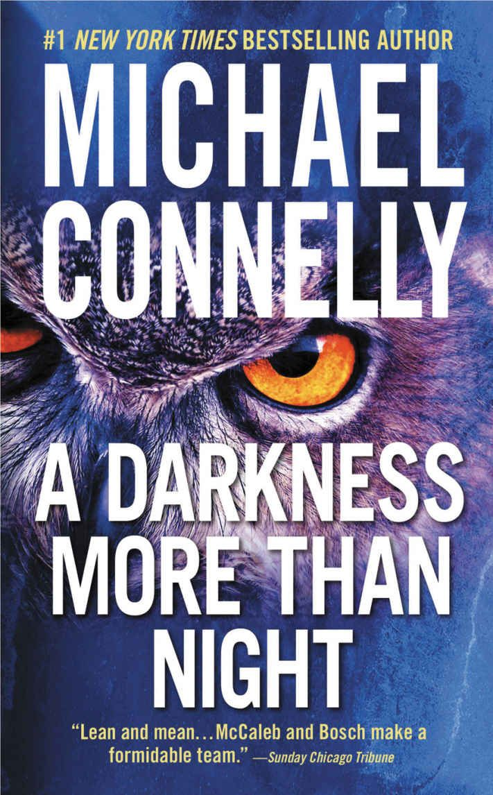 Amazon: A Darkness More Than Night (terry Mccaleb Book 2) Ebook