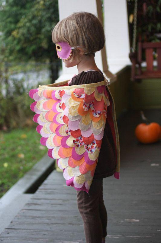 halloween sewing :: wings | Insekten, Kostüm und Nähen