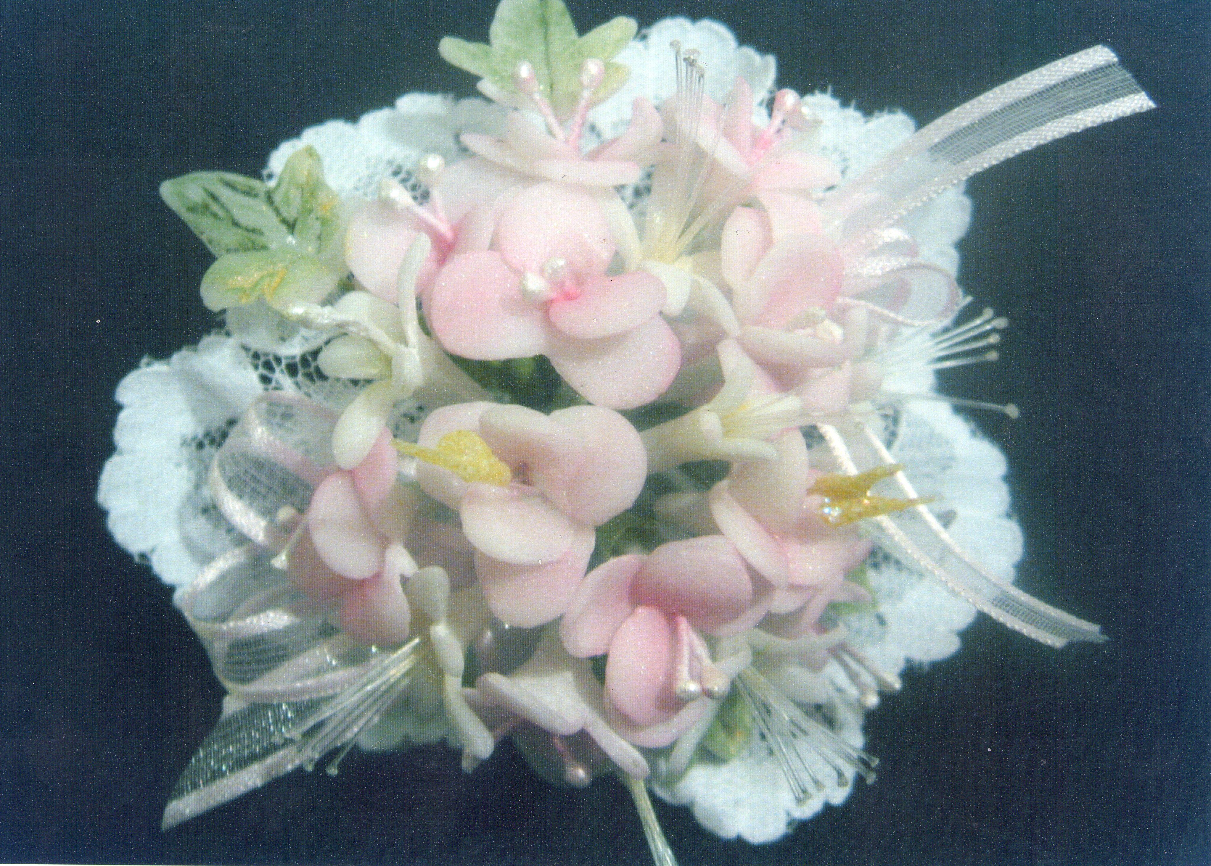 como hacer flores de porcelana fria sin moldes - Google Search ...