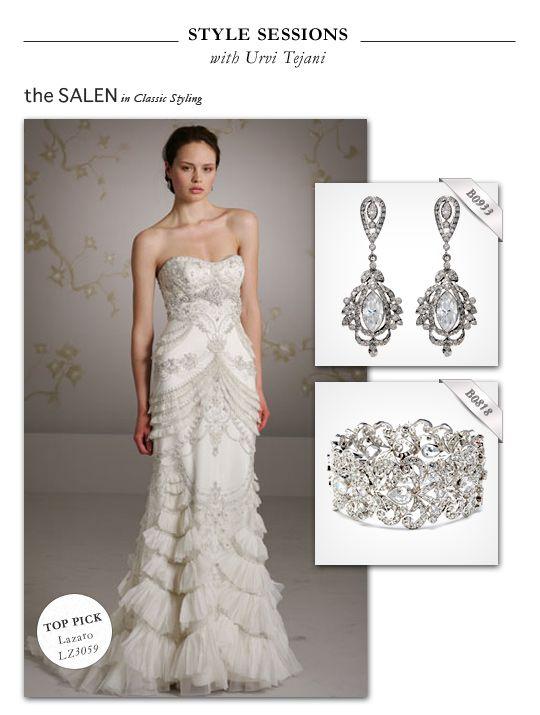 Lazaro wedding dress style lz3059