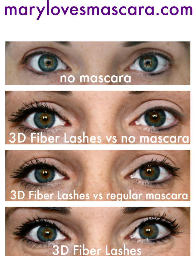 d4c84526e2e How To Get The False Eyelash Makeup Look without false lashes! Get Long and  BIG Lush Lashes with Younique 3d Fiber Lash Mascara - which even comes with  a 14 ...