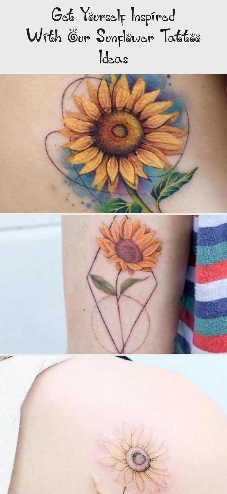 Photo of Significance of a Sunflower Tattoo #backtattoo ★ A lot of beautiful designs fo…