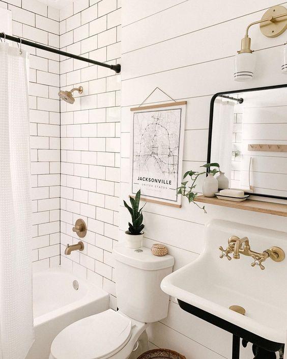Photo of 40+ Gorgeous Modern Scandinavian Bathroom Ideas | momooze.com