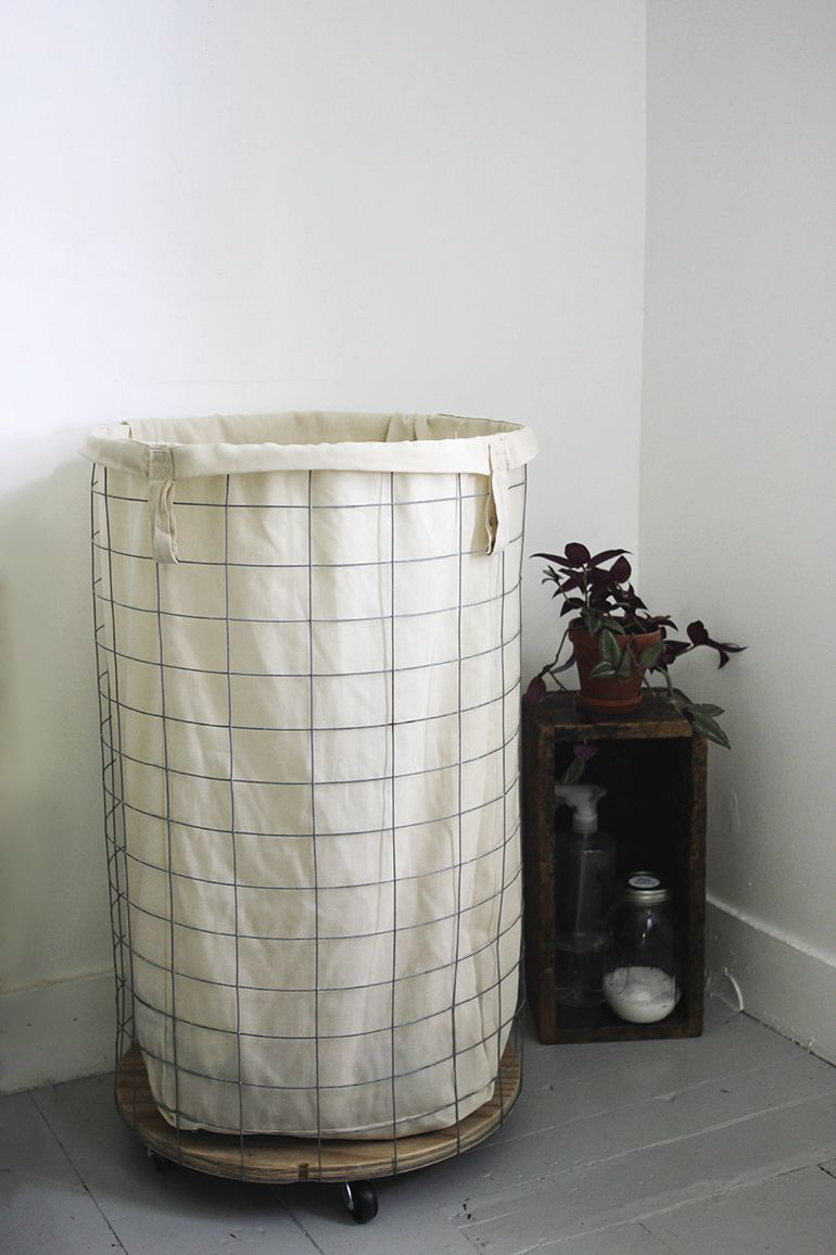 Farmhouse Bathroom Hamper