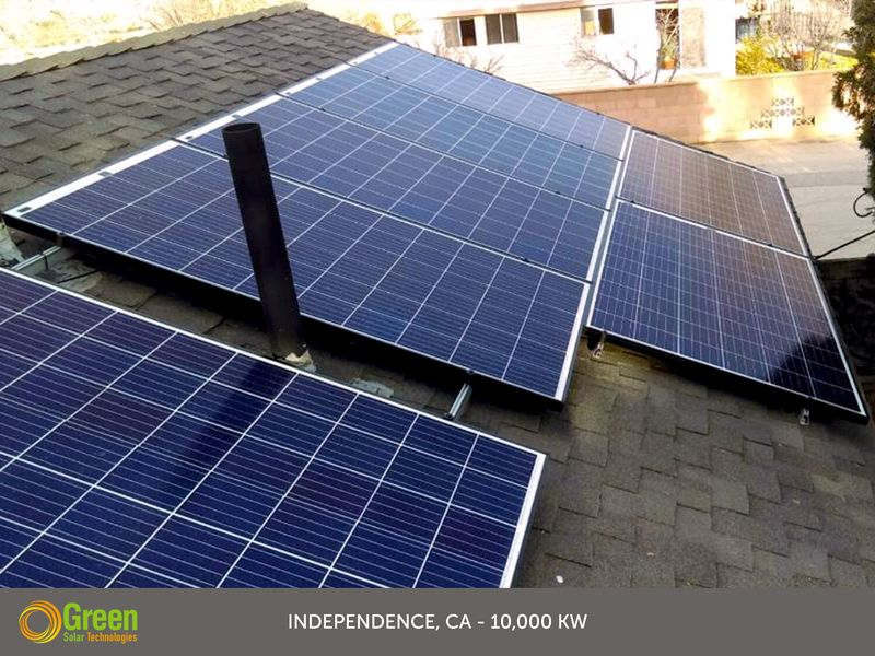 Green Solar Technologies Solarpanel Installation In Independence California Www Greensolartechnologie Solar Panels Solar Panel Installation Solar Technology
