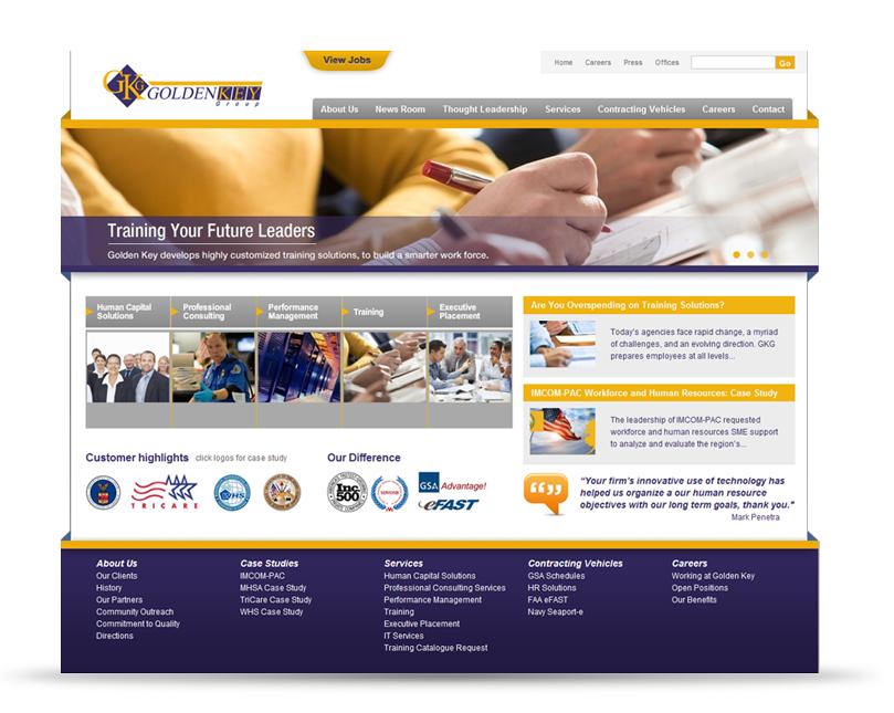 Golden Key Drupal Web Design And Drupal Development Project Cool Websites Web Design Web Design Firm