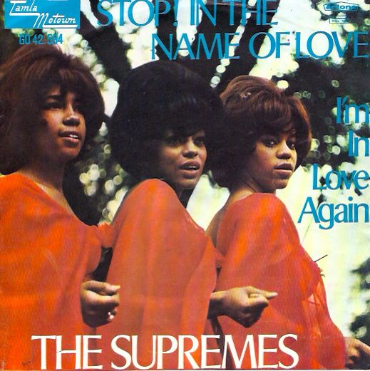 The Supremes 45 Stop In The Name Of Love I M In Love Again Cover Art Diana Ross Diana Ross Supremes Connie Francis