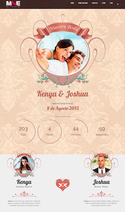 wedding webpages
