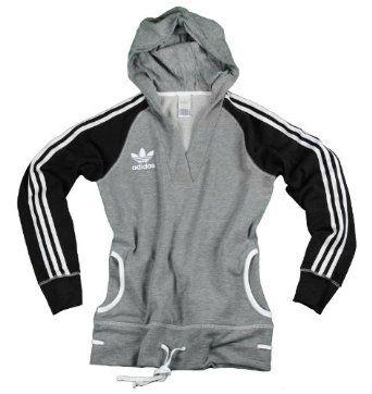 Adidas Womens Shawl Collar Hoodie, Pullover Fleece Jacket