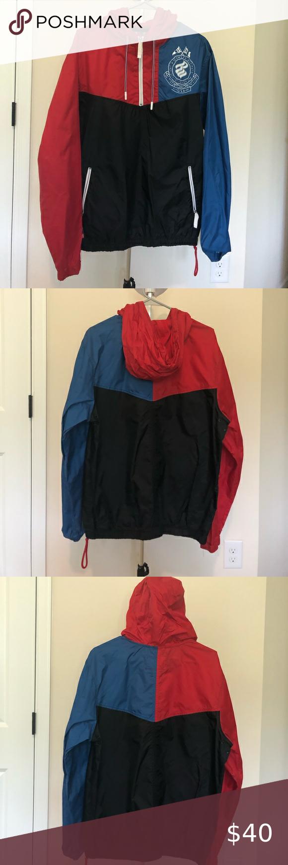 Rocawear Wind Breaker Rocawear Windbreaker Clothes Design [ 1740 x 580 Pixel ]