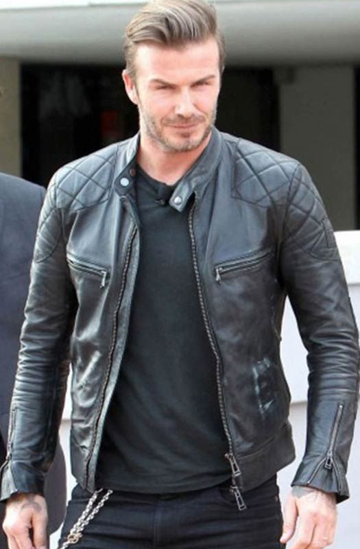mens-quilted-jacket | Mens Leather Jackets | Pinterest | Leather ...