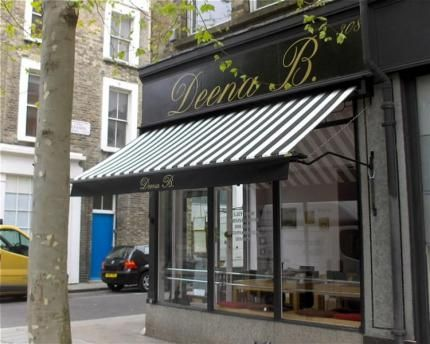 pictures of awnings on bars | Awnings for london shops, bars, cafes, restaurants and pubs.