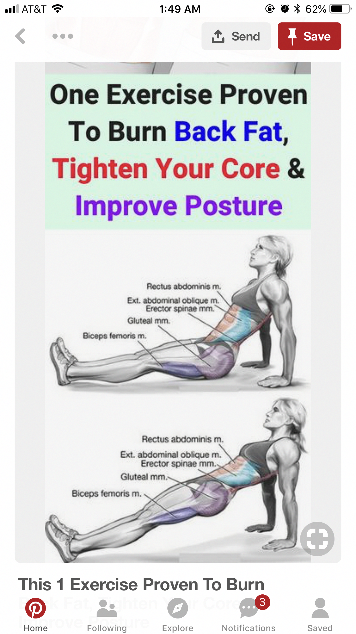 Yoga Pose To Tighten Core And Improve Posture Yogaposture Fitness Body Exercise Yoga Fitness