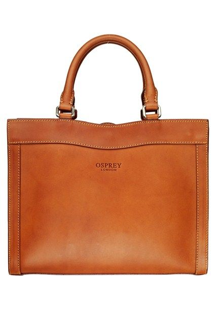 bd90ded925a2 Osprey tan leather bag - love the colour.