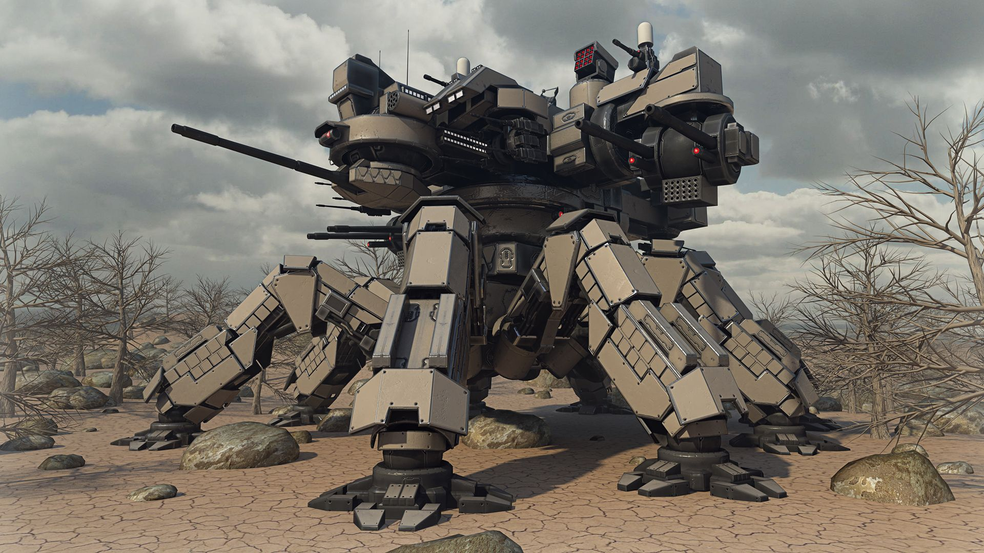 Desert Spider Mecha Not A Mod Unit Just For Fun Image Revamp Expansion Mod Rve Mod For Supreme Commander 2 Mod Db Mech Mecha Concept Art