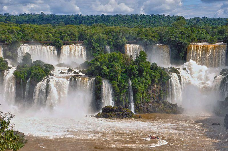 Cataratas del Iguazú- Patrimonio de la Humanidad. Provincia de Misiones.