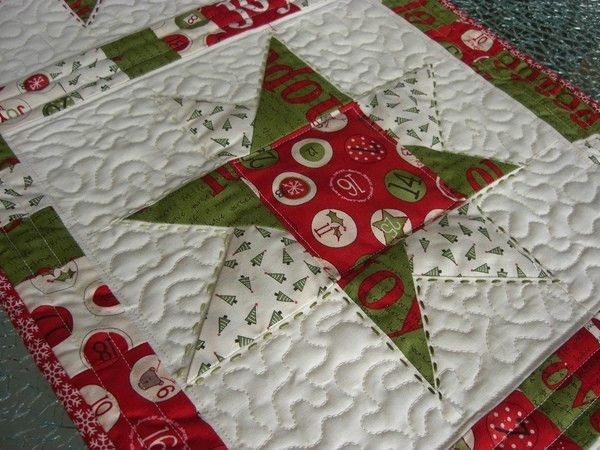 n hanleitung quilt patchwork tischdecke sterne weihnachten tischl ufer patchwork u quilts. Black Bedroom Furniture Sets. Home Design Ideas