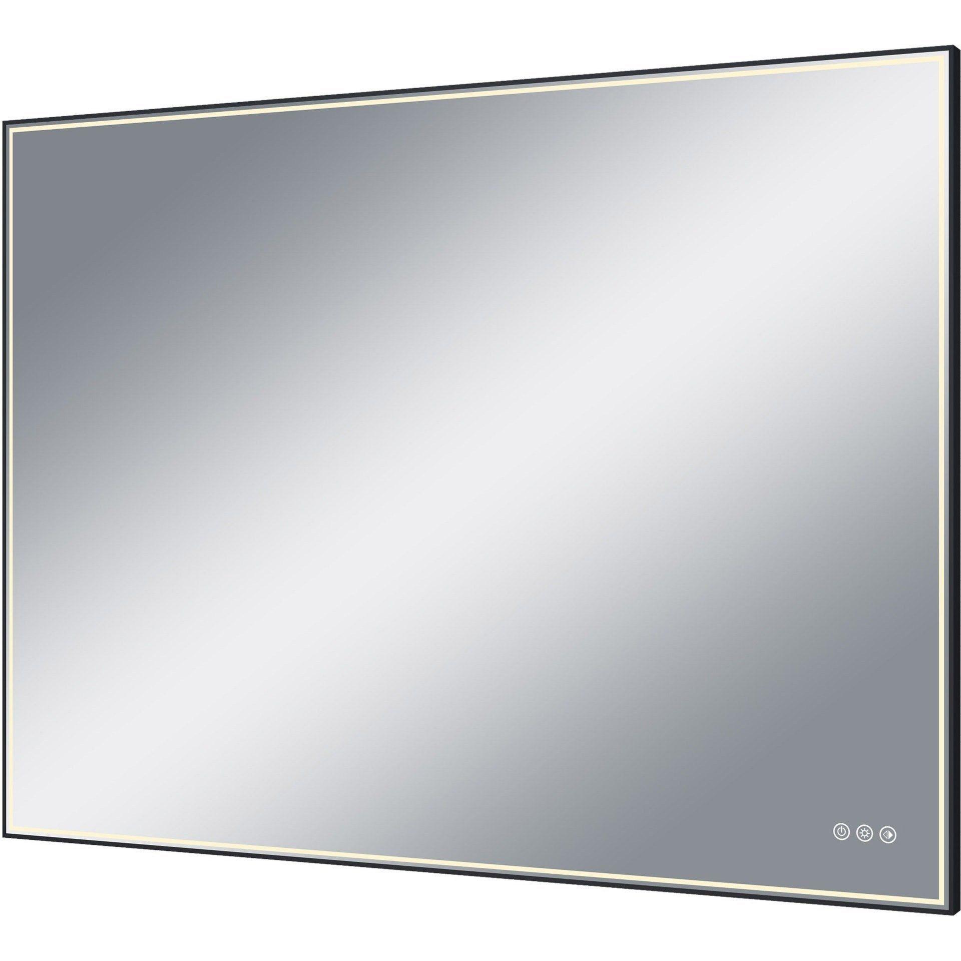 Miroir Lumineux Avec Eclairage Integre L 120 X H 90 Cm Neo Miroir Lumineux Eclairage Miroir