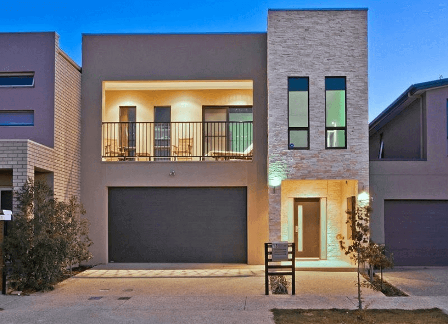 27 Best Garage Design And Decoration Ideas In Managing Your Storage Town House Plans Modern Townhouse Townhouse Exterior