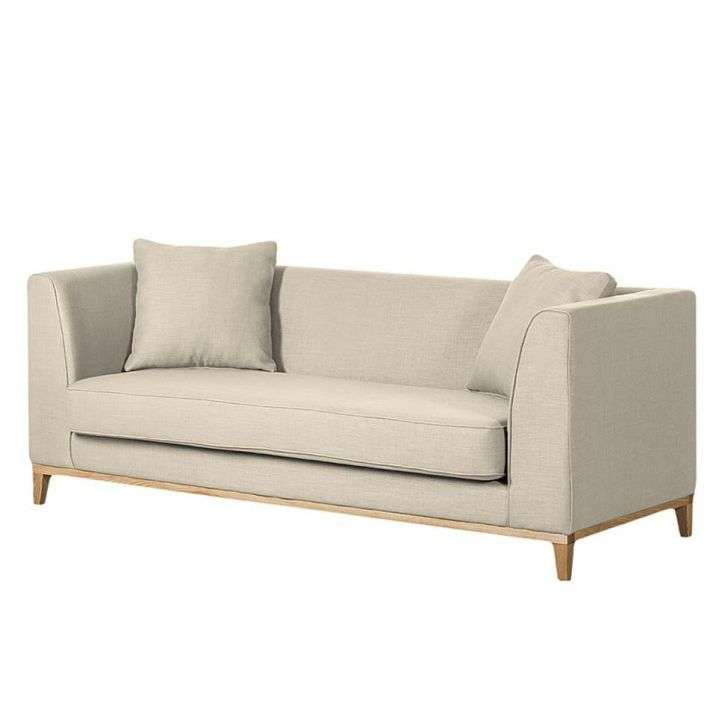 Sof 225 3 Lugares Bege Blomma Mobly 2 699 99 Sofa
