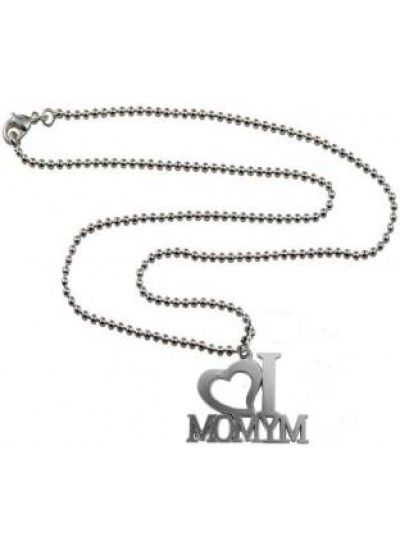 Silver i love my mom pendant pendant mom dadcheap pendant mom dad mom dad suppliersmom dad charms lotmom daughters pendantmom mom necklacemom mum charmmens jewellry jewellery for men onlinemenjewell aloadofball Image collections