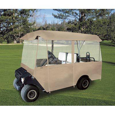Classic Accessories Fairway Deluxe Golf Cart Enclosure 4
