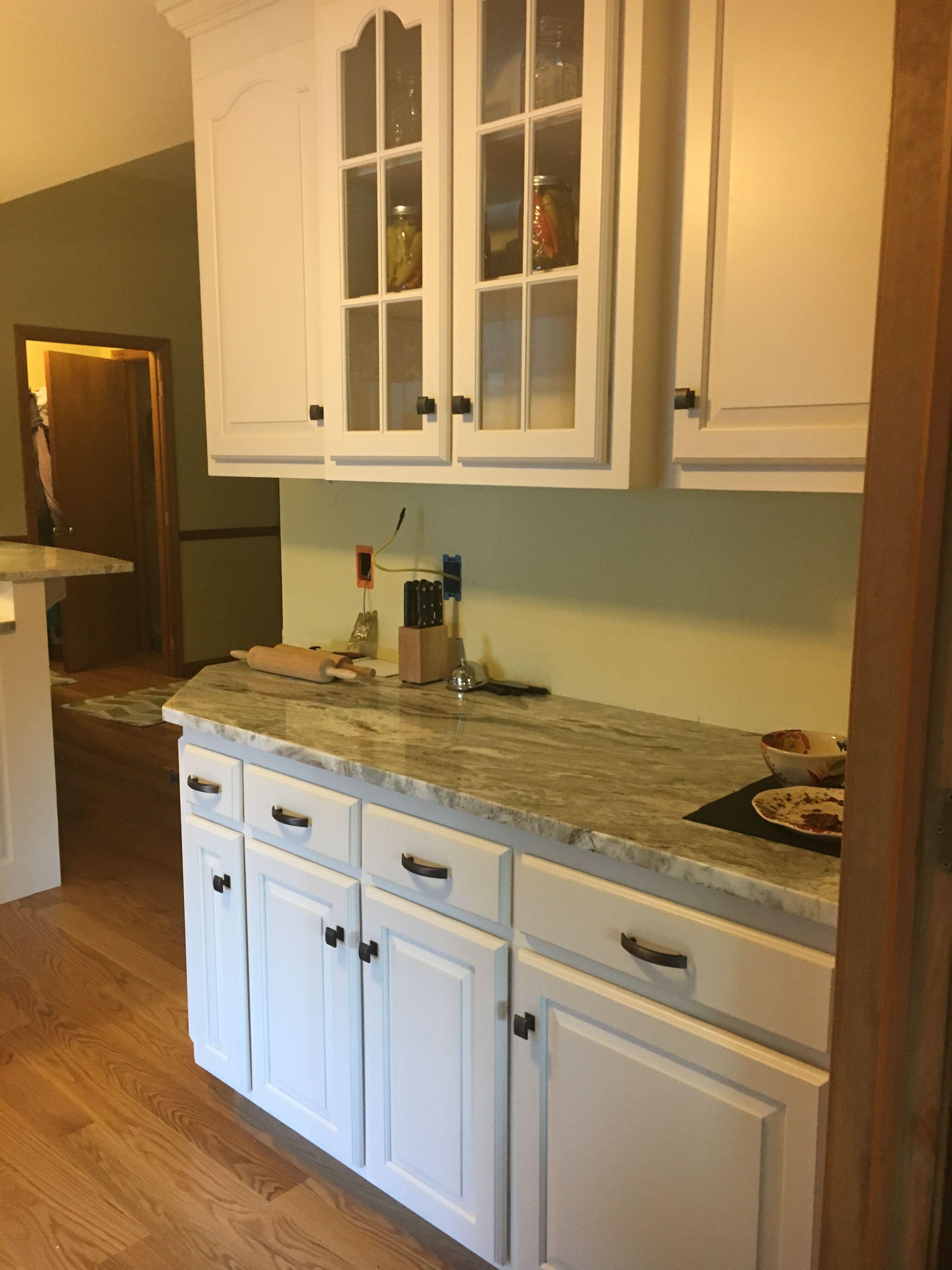 Stunning cream and zebrano kitchen | Home decor, Home, Kitchen