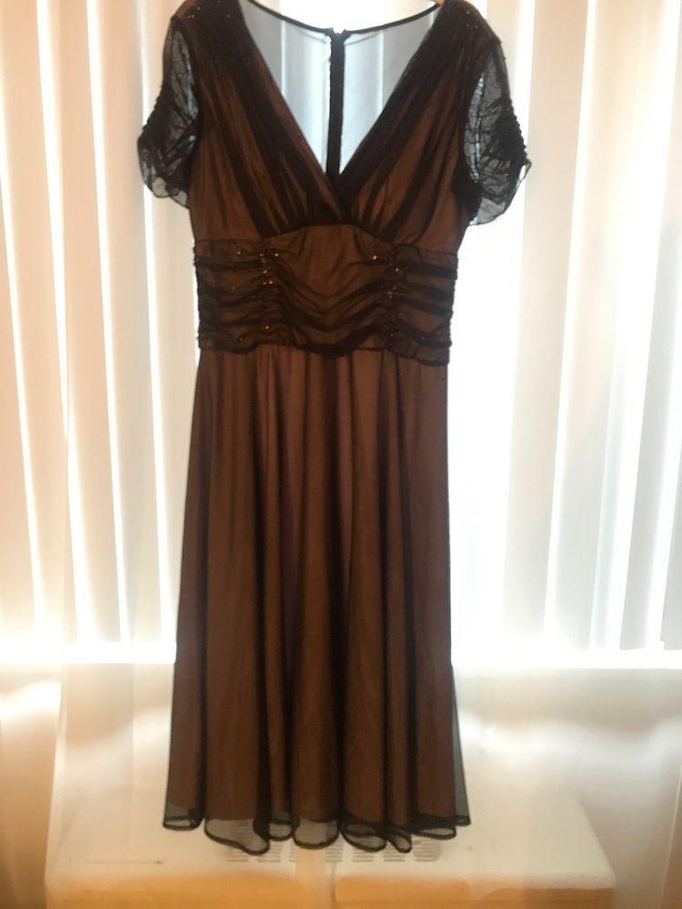 Women's Brown Evening Dresses 14
