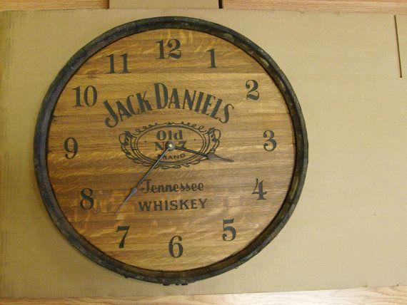 Authentic Whiskey Barrel Head Clock Aunt Mollys Barrels - wellmann küchen qualität