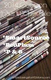 Simple Savings for ATL Moms: 2014 Newspaper Inserts
