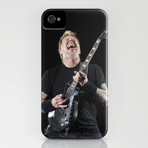 Metallica iPhone Case by Ross Gilmore - $35.00