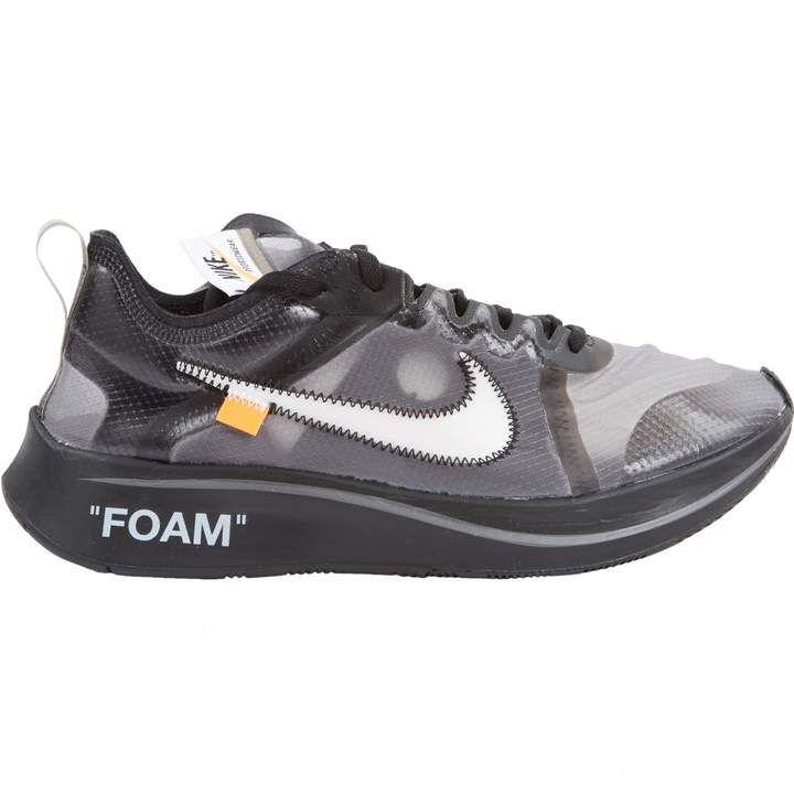 7ffbde865687 Off-White Nike X Off White Nike X Zoom Fly Black Cloth Trainers ...