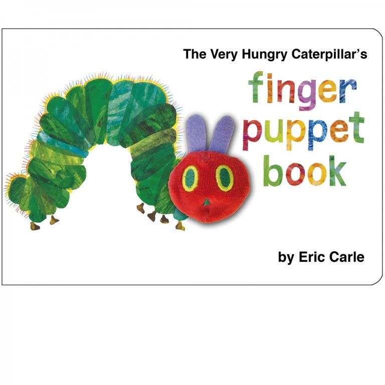 Very Hungry Caterpillar Finger Puppet Book - a lovely gift for age 4 boys.
