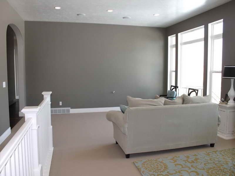 Gray interior paint color idea best gray paint colors Indoor wall color ideas