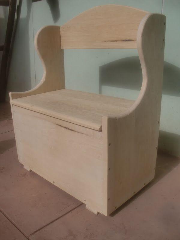 Resultado de imagen para baules de madera infantiles for Baul madera infantil