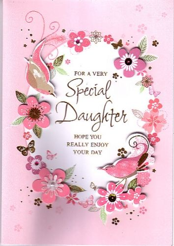 DAUGHTERS Daughter Birthday Cards