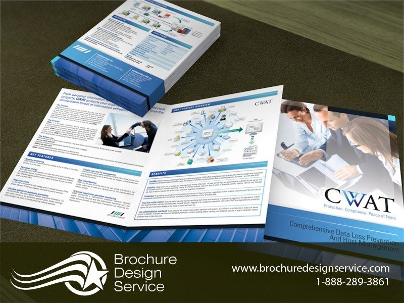 managed services brochure design for an it company a managed services brochure designed by a professional designer x bi fold brochure format