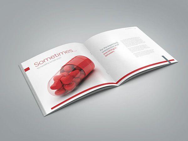 Medical \/ Healthcare Profile Brochure on Behance Hospital - healthcare brochure