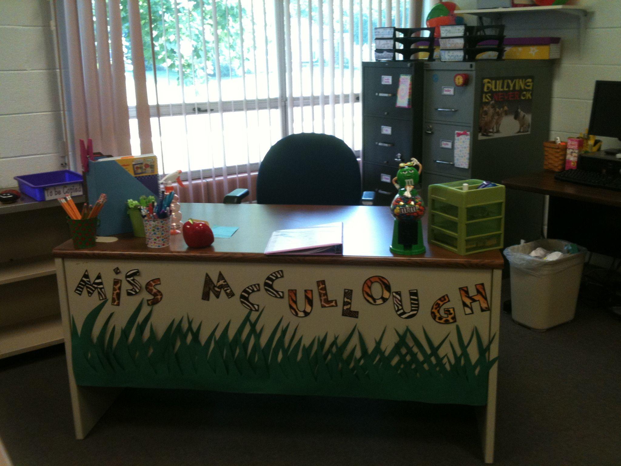 My 3rd Grade Classroom Has A Jungle Theme