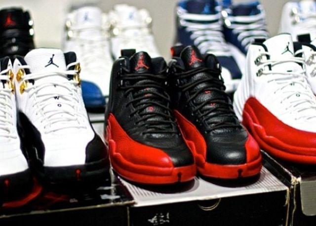 jordan 12 collection