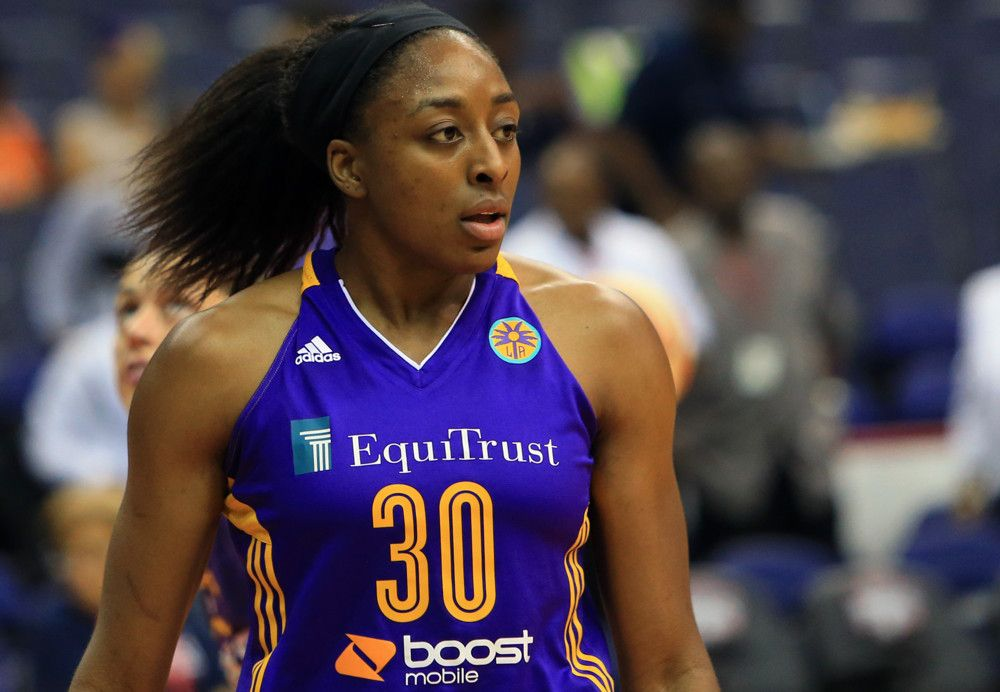 98a60e0c Los Angeles Sparks forward Nneka Ogwumike was named by the ...