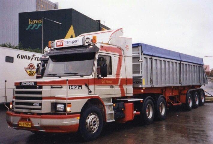 Scania 143M 450 .DSV Transport
