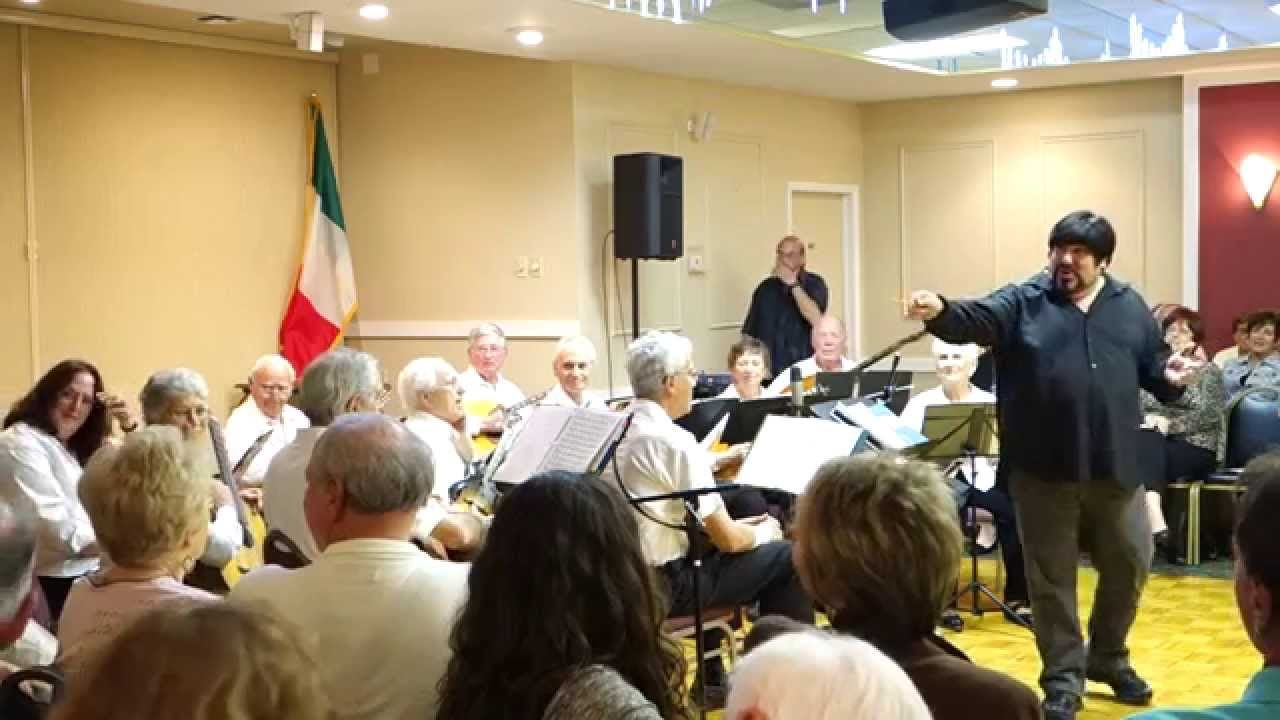 Parlami d'amore Mariu - Joe Spinella & Sarasota Mandolin Orchestra. Thanks for the #youtube comments. :)