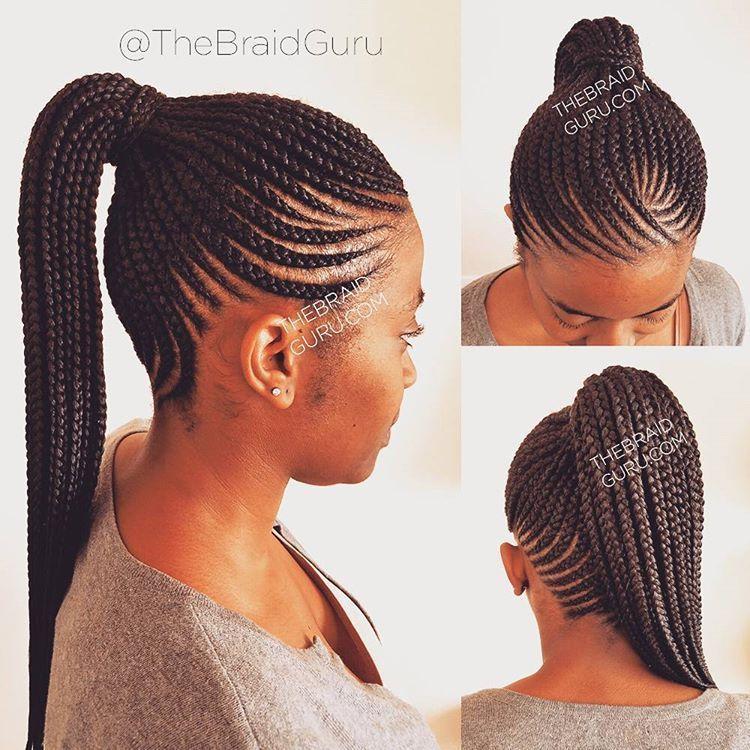 Scalp Braids Plaits Cornrow Ponytail Braided Ponytail Hairstyles Braided Hairstyles