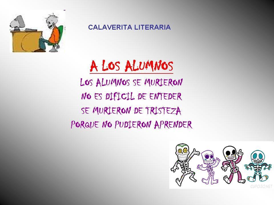 Calaverita Literaria Jpg 960 720 Calaveras Literarias