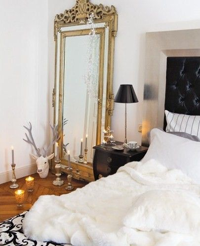 Christmas Decor Paris Apartment Decorated For Home