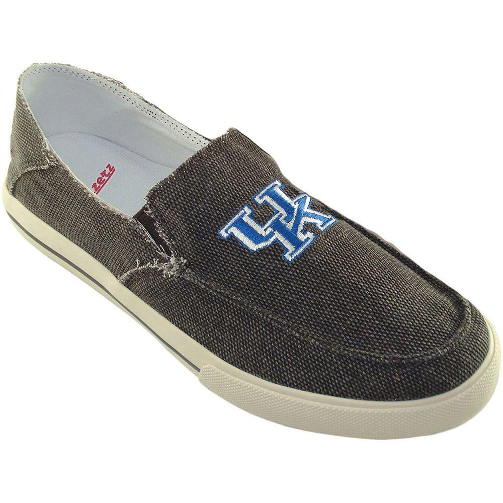 Menus kentucky wildcats drifter slipon shoes size brown